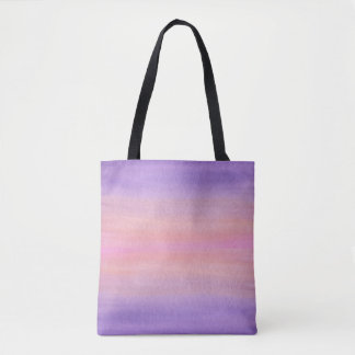 Pink and Purple Watercolor Bag