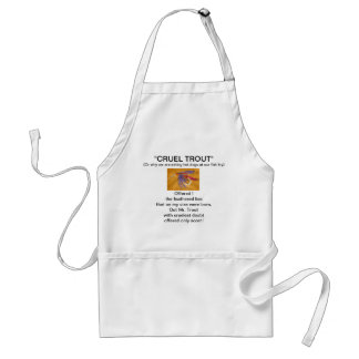 """""""Pink and Purple"""" Wet Fly-Cruel Trout""""  Apron"""
