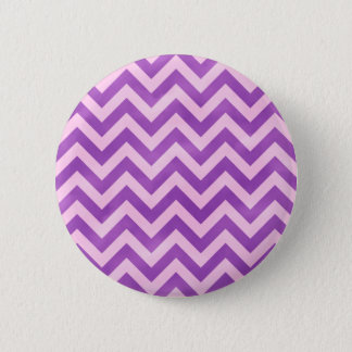 Pink and Purple Zigzag 6 Cm Round Badge