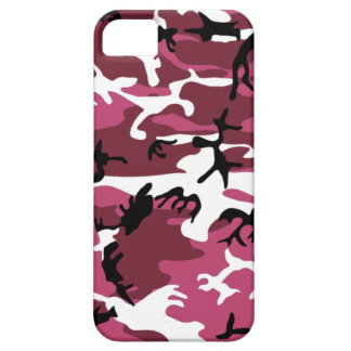 Pink and Red Camo Barely There iPhone 5 Case