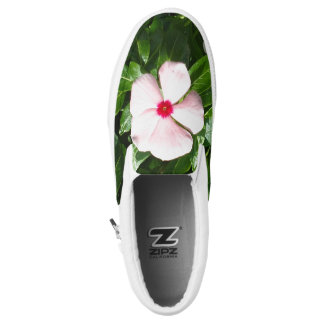 PINK AND RED FLOWER Slip-On SHOES
