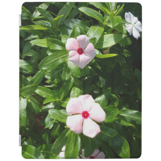 PINK AND RED FLOWERS iPad COVER