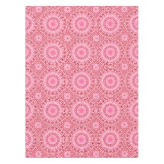 Pink and Red Mandala Kaleidoscope Design Tablecloth