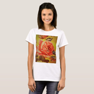 PINK AND RED ROSE T-Shirt