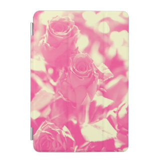 Pink and Soft Yellow Roses iPad Mini Cover