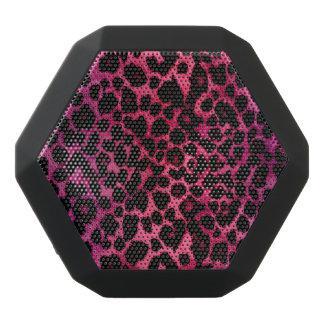 Pink and Violet Leopard Animal Print Speaker