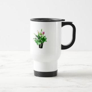 Pink and White Calla Lilies Mug
