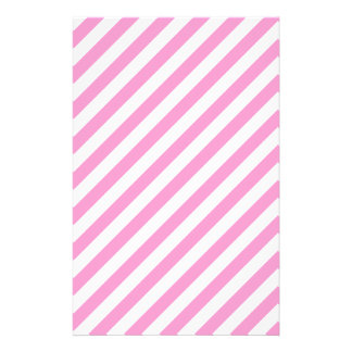 Pink and White Candy Stripes. Custom Flyer