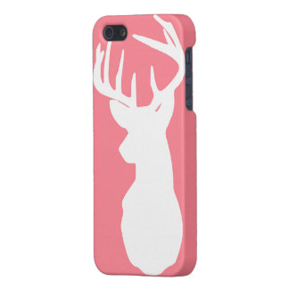 Pink and White Deer Case (MATTE)