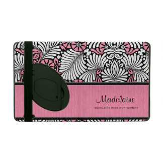 Pink and White Feminine Retro Styling Cases For iPad