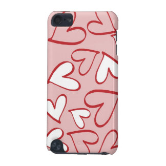 Pink and White Hearts iPod Touch 5th Gen Case iPod Touch (5th Generation) Case