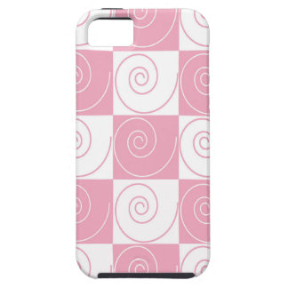 Pink and White Mouse Tails iPhone 5 Case