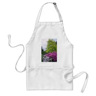 Pink And White Park Azaleas flowers Aprons