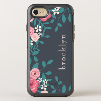 Pink And White Pastel Flowers OtterBox Symmetry iPhone 8/7 Case