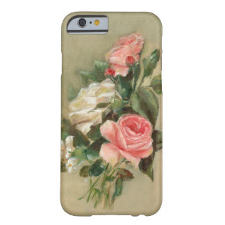 Pink and white Rose Bouquet Barely There iPhone 6 Case