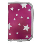 Pink and White Stars Planner