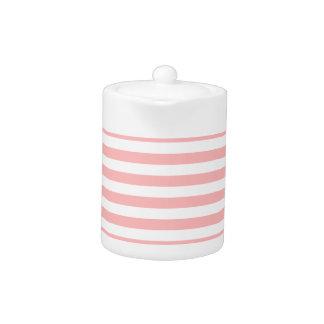 Pink and White Stripe Pattern