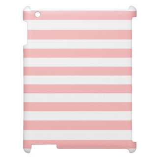 Pink and White Stripe Pattern Case For The iPad 2 3 4