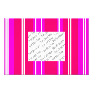 Pink and white stripes photo