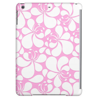 Pink and white tropical floral