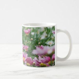 Pink and White Wildflowers Mug