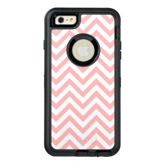 Pink and White Zigzag Stripes Chevron Pattern OtterBox iPhone 6/6s Plus Case