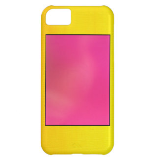 Pink and Yellow Case For iPhone 5C