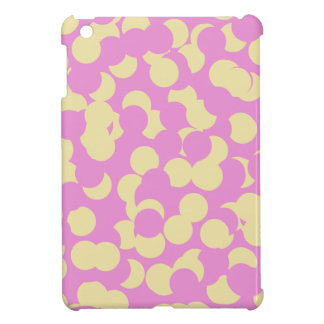 Pink and Yellow Confetti iPad Mini Cover