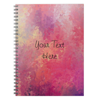 Pink and Yellow Skies Notebook