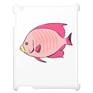 Pink Angel Fish iPad Case