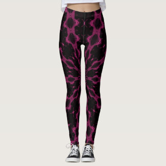 Pink Angel Goddess Leggings