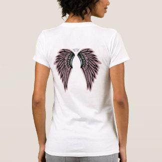 Pink Angel Wings Tee Shirt