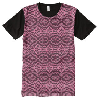 Pink Animal Pattern#48b American Apparel Buy Onlin All-Over Print T-Shirt
