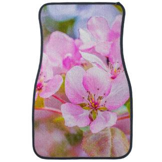 Pink Apple Blossom Car Mat