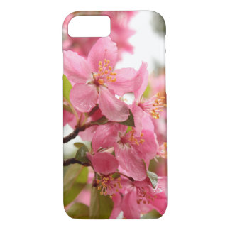 Pink Apple Blossom Flower Photo iPhone 8/7 Case