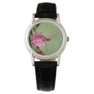 Pink Apple Blossom Watch