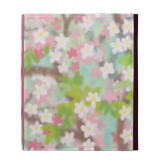 Pink Apple Blossoms iPad Case