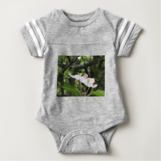 Pink apple flower in spring . Tuscany, Italy Baby Bodysuit