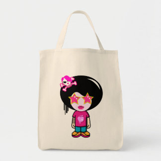 Pink apple girl bag