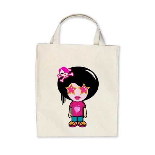 Pink apple girl bag