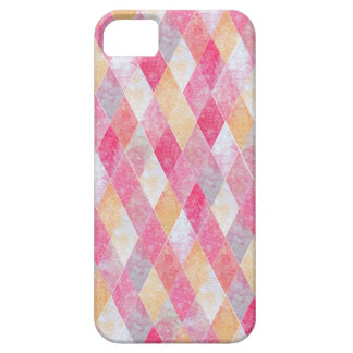 Pink Argyle Barely There iPhone 5 Case