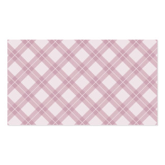 Pink Argyle Pattern Pack Of Standard Business Cards