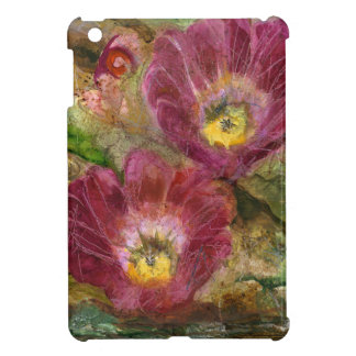 Pink Arizona Desert Flowers iPad Mini Cover