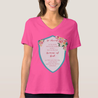 pink Armor Of God T-shirt