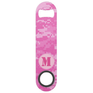 Pink ARMY ACU Camo Camouflage Bottle Opener