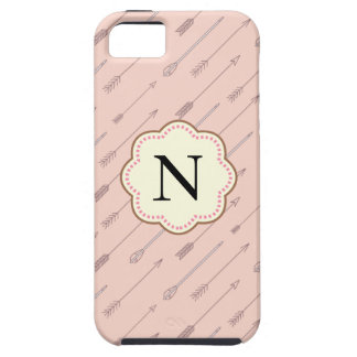 Pink Arrow Tough iPhone 5 Case