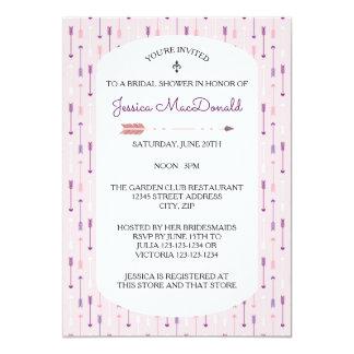 Pink Arrows - Bridal Shower Invitation