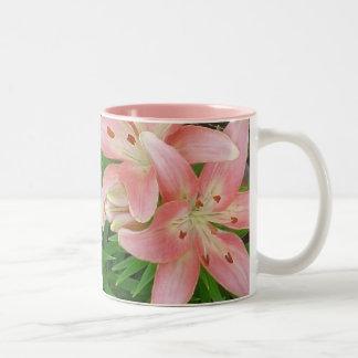 Pink Asiatic Lilies Mug