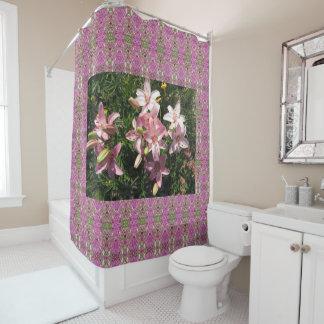 Pink Asiatic Lilies PhotOriginal Shower Curtain