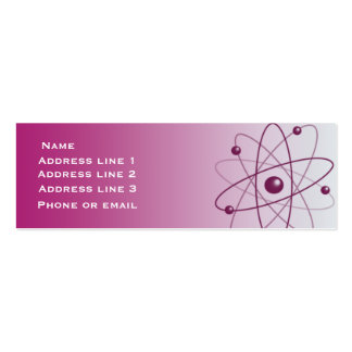 Pink Atom Business Card